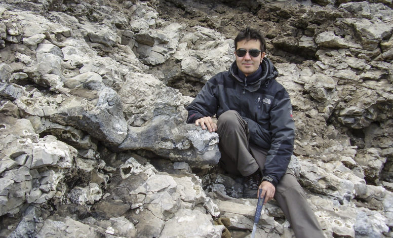 Bones of Ichthyosaurus and me